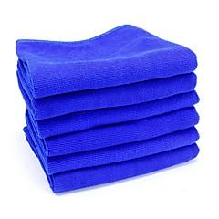 ziqiao limpeza do carro de microfibra ferramentas de produtos de lavagem toalha de pano de pó (30 * 70 centímetros)