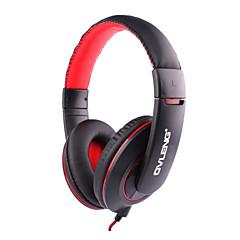 billiga Headsets och hörlurar-OVLENG Över örat / Headband Kabel Hörlurar Plast Sport & Fitness Hörlur mikrofon / Med volymkontroll headset