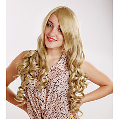 cheap Wigs & Hair Pieces-Synthetic Wig Curly Women's Capless Carnival Wig Halloween Wig Long Synthetic Hair