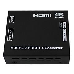 HDCP dönüştürücü HDCP 2.2 hdmi dönüştürücü hdmi 4k çözünürlük azalması sürümü 1.4 dönüştürmek vizyon HDCP için