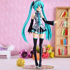 Vocaloid Hatsune Miku PVC 21.5CM נתוני פעילות אנימה צעצועי דגם בובת צעצוע