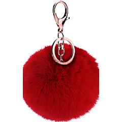 tanie Łańcuszki do kluczy-Łańcuszek do kluczy Biżuteria Fuchsia Mustard Czerwony Różowy Jasnoniebieski Stop Modny Urodziny Prezent Damskie