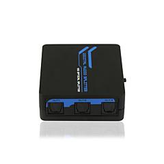 billige Lyd & Billede-SPDIF / Toslink digital optisk lyd 1x5 splitter ce fcc rosh sertifisert