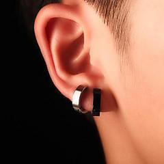 בגדי ריקוד גברים נשים חפתים אוזן פלדת טיטניום תכשיטים עבור יומי קזו'אל