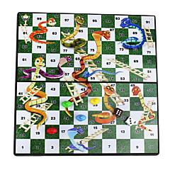 serpents magnétiques pliables portables éducatifs ; échelles de voyage table bureau jeu de plateau