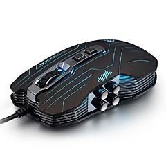 luom g5 3200dpi führte optische 9d usb Vibration verdrahtet beleuchtete Gaming-Maus Neuheit Mäuse