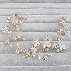 קריסטל headbands headpiece מסיבת החתונה אלגנטי בסגנון נשי
