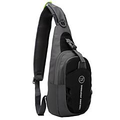 お買い得  自転車用バッグ-TANLUHU 5 L ショルダーバッグ / チェストバッグ のために サイクリング / バイク スポーツバッグ 防水 / 携帯用 / 耐久性 ランニングバッグ ナイロン パープル / グリーン / ブルー