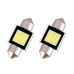 billige Interiørlamper til bil-2pcs 31mm / 41mm / 36mm Bil Elpærer 3 W COB 280 lm 1 Tåkelys / Hodelykt