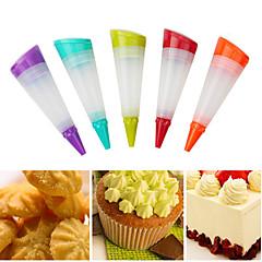 billige Bakeredskap-silikon kake piping redskap krem icing bag kaker penn bake dekor verktøy