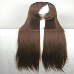 billiga Peruker och hårförlängning-Syntetiska peruker Rak Dam Utan lock Karneval peruk Halloween Paryk Kostym Peruk Väldigt länge Syntetiskt hår