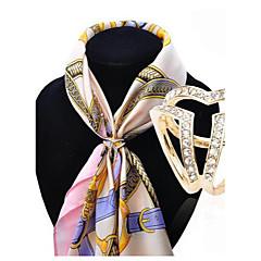 billige Motebrosjer-Dame Nåler Krystall Mote kostyme smykker Legering Smykker Til Bryllup Fest Spesiell Leilighet Bursdag Engasjement Daglig Avslappet