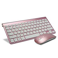 escritório 2.4ghz Gaming Mouse 2400dpi teclado sem fio e baterias de 3 peças de um conjunto