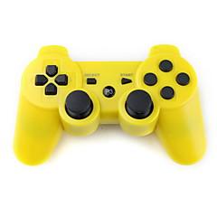 PS3 Herlaadbare en Draadloze Dualshock 3 Controller (geel)