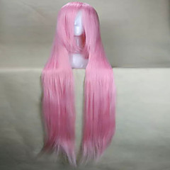 cheap Wigs & Hair Pieces-capless 120cm long cosplay wig synthetic hair animated wigs girl s cartoon wigs party wigs 10 colors Halloween