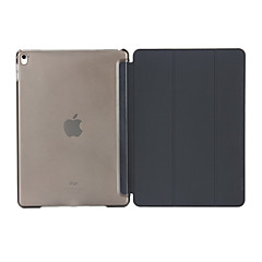 Case For Apple with Stand Auto Sleep / Wake Full Body Solid Color Hard PU Leather for iPad (2017) iPad Pro 9.7'' iPad Air 2 iPad Air iPad