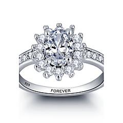 Osobní slib 925 stříbro cz kámen svatební party prsten pro ženy