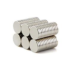 Brinquedos Magnéticos Blocos de Construir Imãs Magnéticos Raros Super Fortes 50 Peças 10*1.5mm Brinquedos Imã Circular Dom