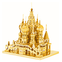 baratos -Quebra-Cabeças 3D Quebra-Cabeças de Metal Brinquedos de Montar Castelo Metalic Para Meninos Para Meninas Brinquedos Dom