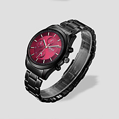 Men's  Quartz Black Steel Strip Waterproof Fashion Watches Wrist Watch Cool Watch Unique Watch