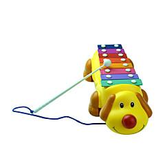 amarelo de piano batida oitava criança de plástico para crianças com menos de 3 brinquedo instrumentos musicais