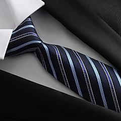 Męskie Impreza / Praca / Podstawowy Krawat - Poliester / Niebieski