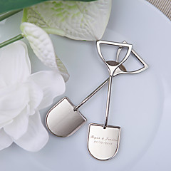 Classic Theme Bottle Openers Chrome Bottle Favor With Ring Wedding Favors