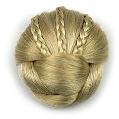 cheap Hair Pieces-kinky curly gold profession human hair lace wigs chignons 1003
