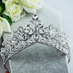 זול תכשיטים לשיער-אבן נוצצת סגסוגת Tiaras 1 חתונה אירוע מיוחד כיסוי ראש