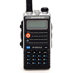 billige Walkie-talkies-BAOFENG BF-UVB2 PLUS Håndholdt / Digital Lader og adapter / Stemmekommando / Strømskifter høy / lav 1,5-3 km 1,5-3 km 128 1800mAh 7 W Walkie Talkie Toveis radio
