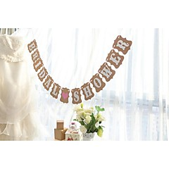 Karton Wedding Decorations-1piece / Set Lente Zomer Herfst Winter Niet-gepersonaliseerd