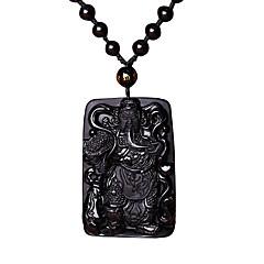 Муж. Ожерелья с подвесками Кулоны Агат Мода Бижутерия Назначение Повседневные