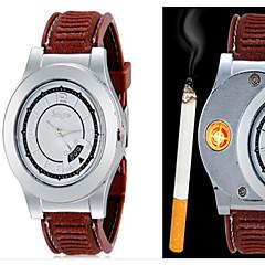 cheap Men's Watches-Men's Quartz Wrist Watch Creative Alloy Band Casual / Fashion Black / Brown