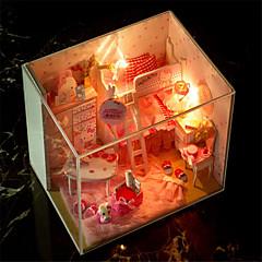 DIY 키티 손으로 조립 모델 하우스 생일 선물 발렌타인 데이