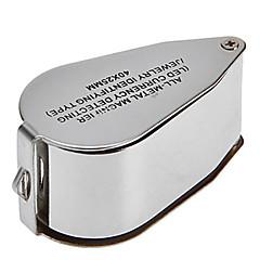 voordelige Gereedschap & Apparatuur-Vergrootglazen / Microscoop Sieraden / Horlogereparatie High-Definition / Handheld / LED / Vouwen 40 30mm Normaal Rubber / Metaal