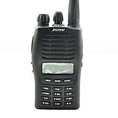 billige Walkie-talkies-PX-777 VHF Walkie-talkie Håndholdt Dobbelt bånd Programmeringskabel Nød Alarm Programmerbar med datasoftware Strømsparefunksjon Lader og