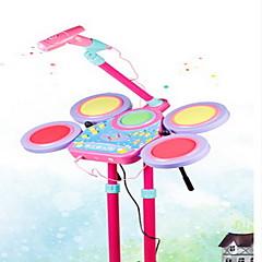장난감 접을수 있는 드럼 세트 조각 선물