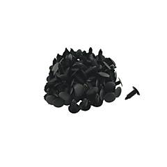 k027 100 buc masina cu panou interior clipuri de echipare nit plastic negru