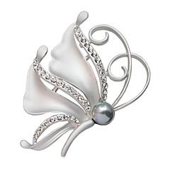 dámské crystal motýl plný drahokamu odznaky šátek spony módní vánočními dar brož