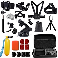 cheap Sports Action Cameras & Accessories  For Gopro-Front Mounting Anti-Fog Insert Clip Case/Bags Screw Floating Buoy Suction Cup Wrenches Adhesive Mounts Straps Hand Grips/Finger Grooves