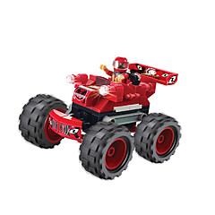 billiga Leksaker och spel-WOMA Leksaksbilar / Byggklossar 114pcs Bilar / Häst / Racerbil GDS (Gör det själv) / Originella / Kreativ Racerbil Pojkar Present