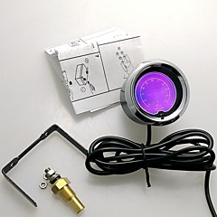 """2 """"(52mm) LCD 7 színű olaj hőmérséklet mérő érzékelő / auto szelvény / autó méter"""
