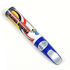 beyaz vw-skoda-lb9a-şeker araba boya kalemi-otomobil çizikler tamir rötuş renkli dokunmatik