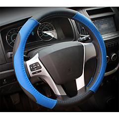 billige Rattovertrekk til bilen-automotive sett på rattet, lær, fire årstider generelt, interiør av settet av 53-2d \ 2052, diameter 38cm