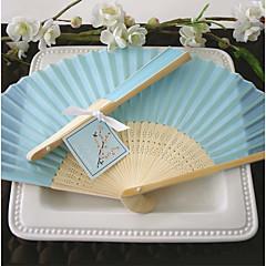 Hedvábí Fanoušci a slunečníky-# Piece / Set Ruční ventilátorPlážový motiv Zahradní motiv Motiv Las Vegas Asijská motiv Květinový motiv