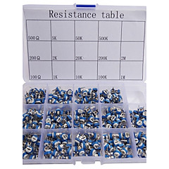 cheap -Variable Resistor Assorted Kit 14 Value 280pcs Potentiometer
