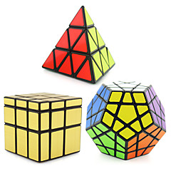 cheap -3 PCS Magic Cube IQ Cube Shengshou Pyramid Alien Megaminx Smooth Speed Cube Magic Cube Puzzle Cube Professional Level Speed Classic & Timeless Kid's Adults' Toy Boys' Girls' Gift