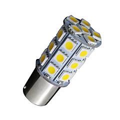billige -10x varm hvid 1156 BA15s 27smd 5050 LED lys rv autocamper bil backup 7506