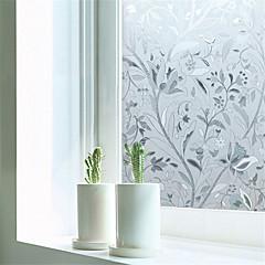 baratos Tratamentos para Janelas-Art Deco Moderna Película para Vidros, PVC/Vinil Material Decoração de janela Sala de Jantar Quarto Escritório Quarto das Crianças Sala
