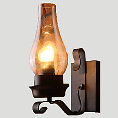 Lightinthebox Rustic / Lodge / Vintage / Retro Wall Lamps & Sconces Metal Wall Light 110-120V / 220-240V 60W
